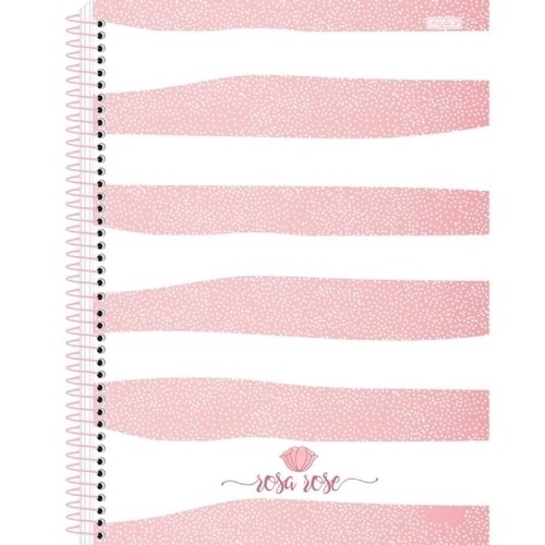 Caderno 1 Matéria Rosa Rose - SD
