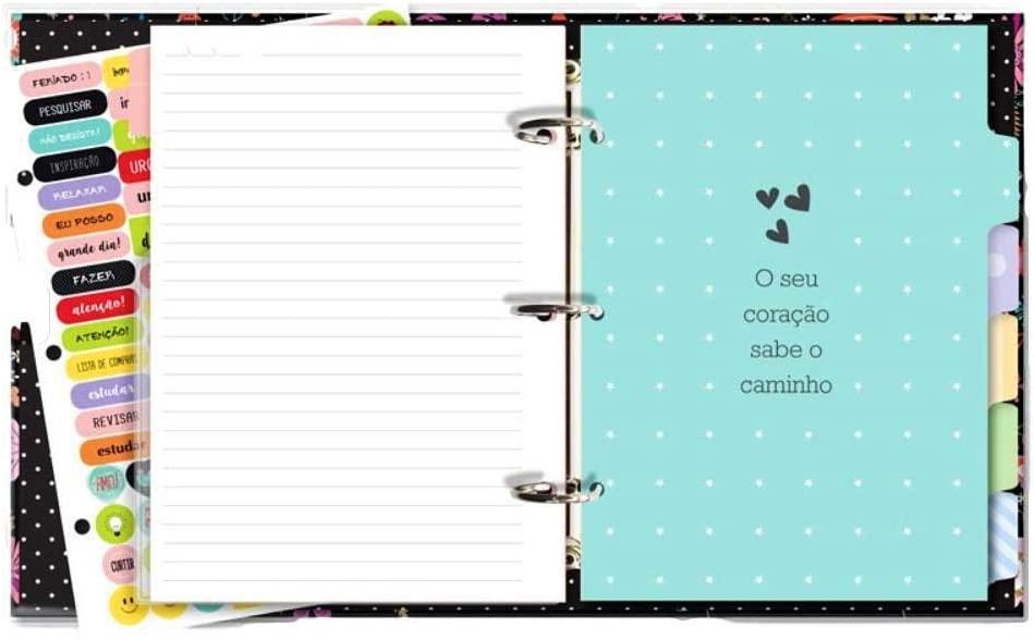 Caderno Argolado Fiore - Fina Ideia