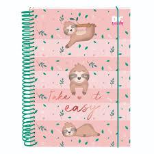 Caderno Bicho Preguiça -DAC