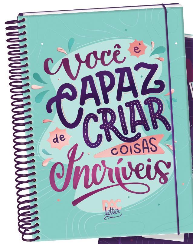 Caderno Colegial 10 Matérias - Dac Trendy