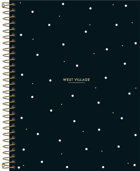 Caderno Colegial 10 Matérias West Village - Tilibra