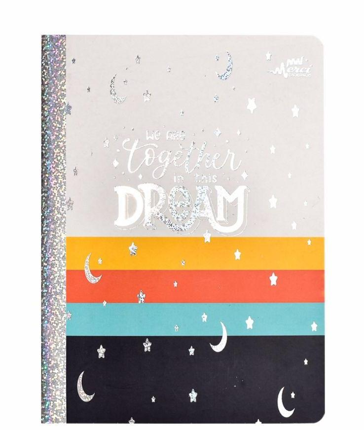 Caderno Colegial Brochura We are Together in the Dream - Merci