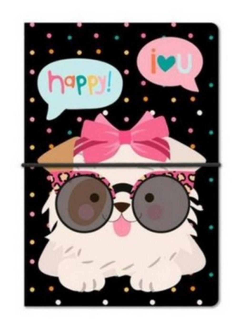 Caderno Duplo Happy Mia