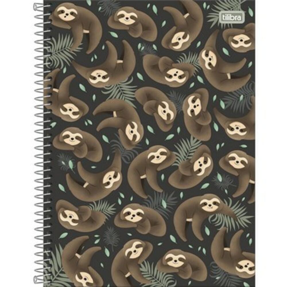 Caderno Espiral Capa Dura Universitário 10 Matéria Nap Nap 160 Folhas