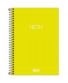 Caderno Espiral Neon Pequeno 80 folhas  - Tilibra