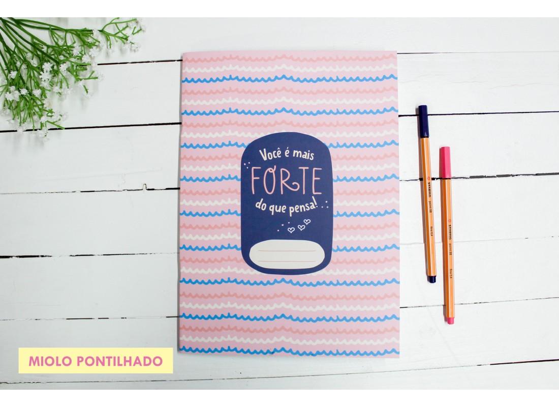Caderno Flex Você é Mais Forte do que Pensa! - Papelote