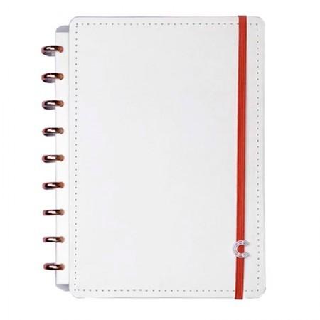 Caderno Intelligente All White Médio