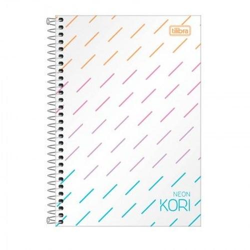 Caderno Kori  com 80 Folhas Coloridas  - Tilibra