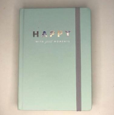 Caderno Pontilhado Happy G
