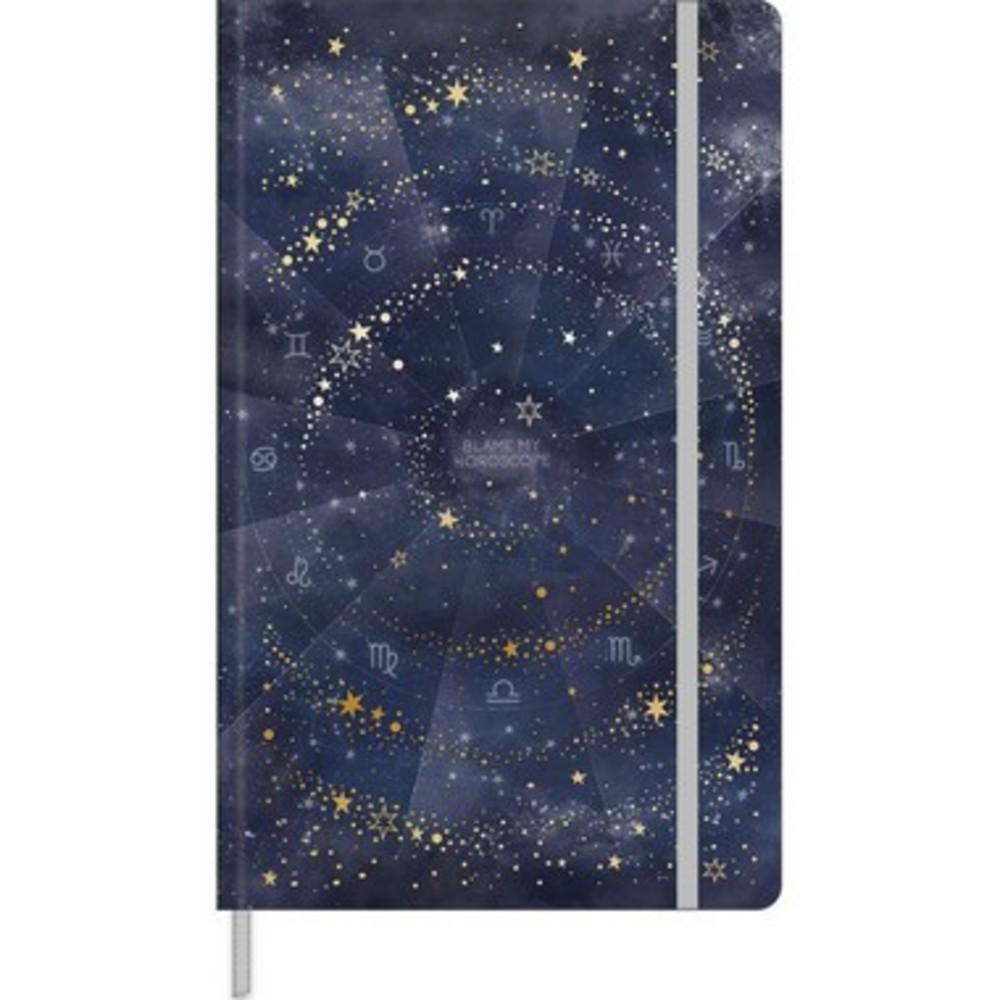 Caderno Pontilhado Magic c/ 80 folhas -Azul
