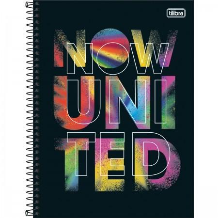 Caderno Universitário Now United 10 M TILIBRA