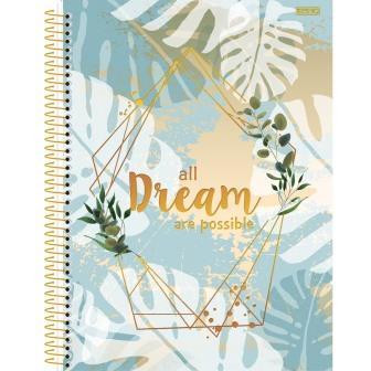 Caderno Universitário 10 Matérias Mulher  - SD