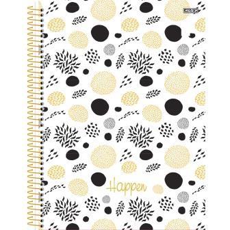 Caderno Universitário Happen 10 matérias - SD