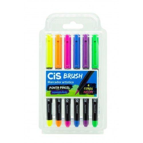 Caneta Brush Neon