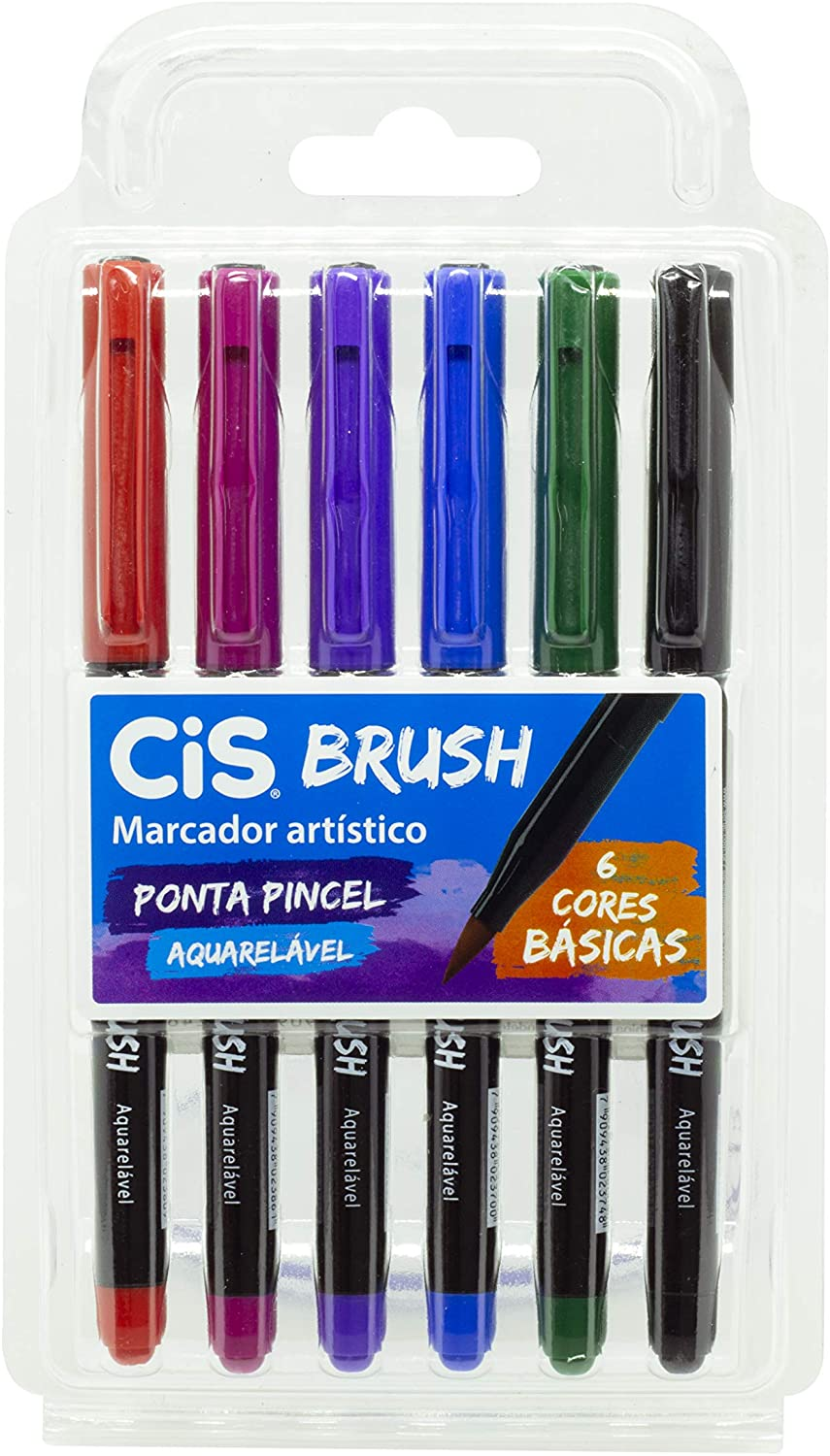 Caneta Brush Tons Basicas