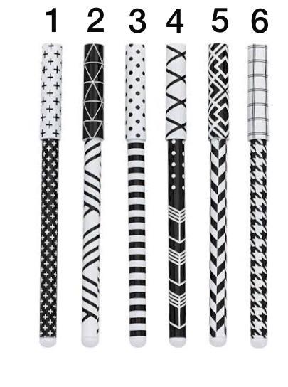 Caneta Esferografica Black and White  MOLIN