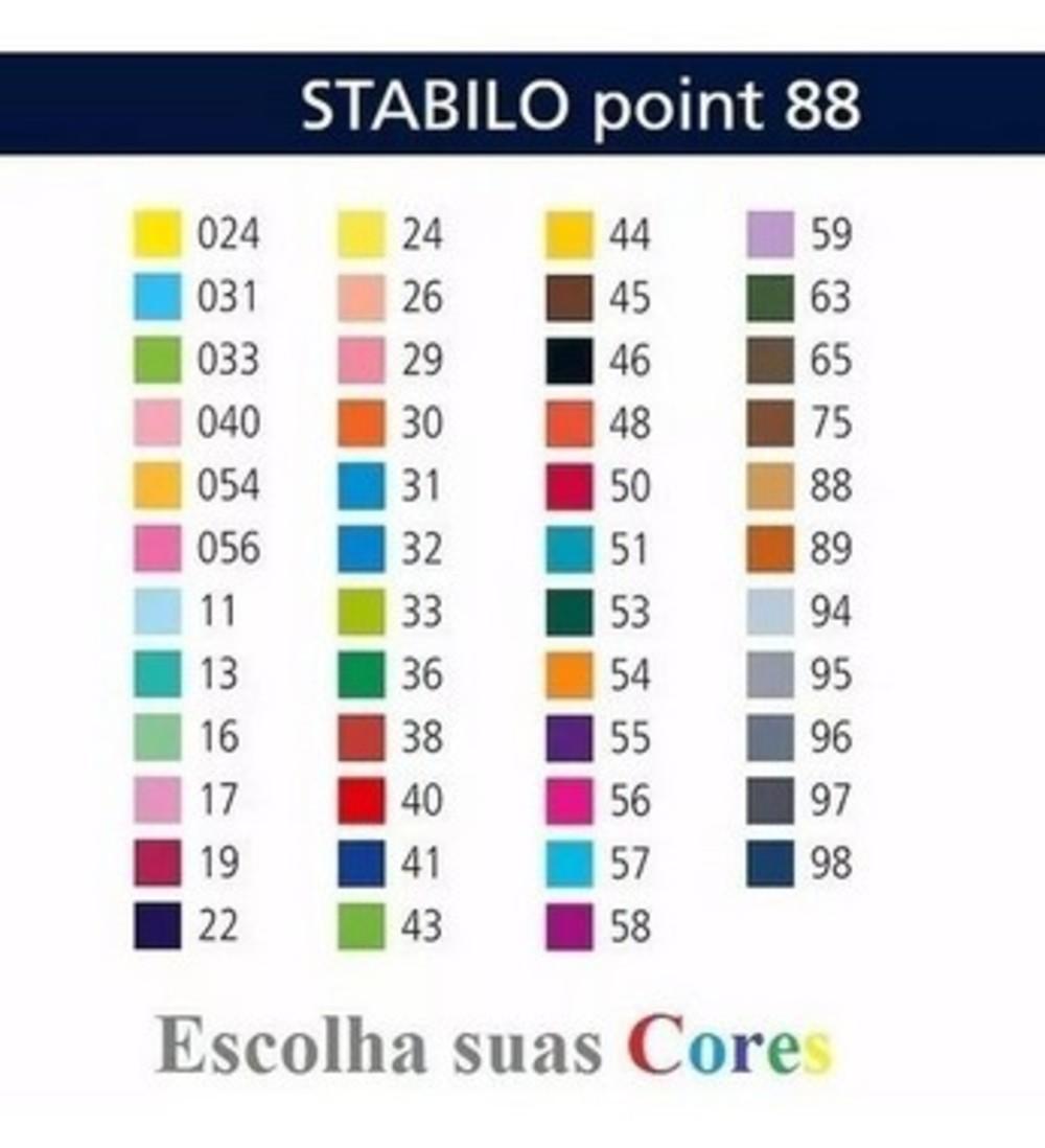 Caneta Stabillo 0.4mm