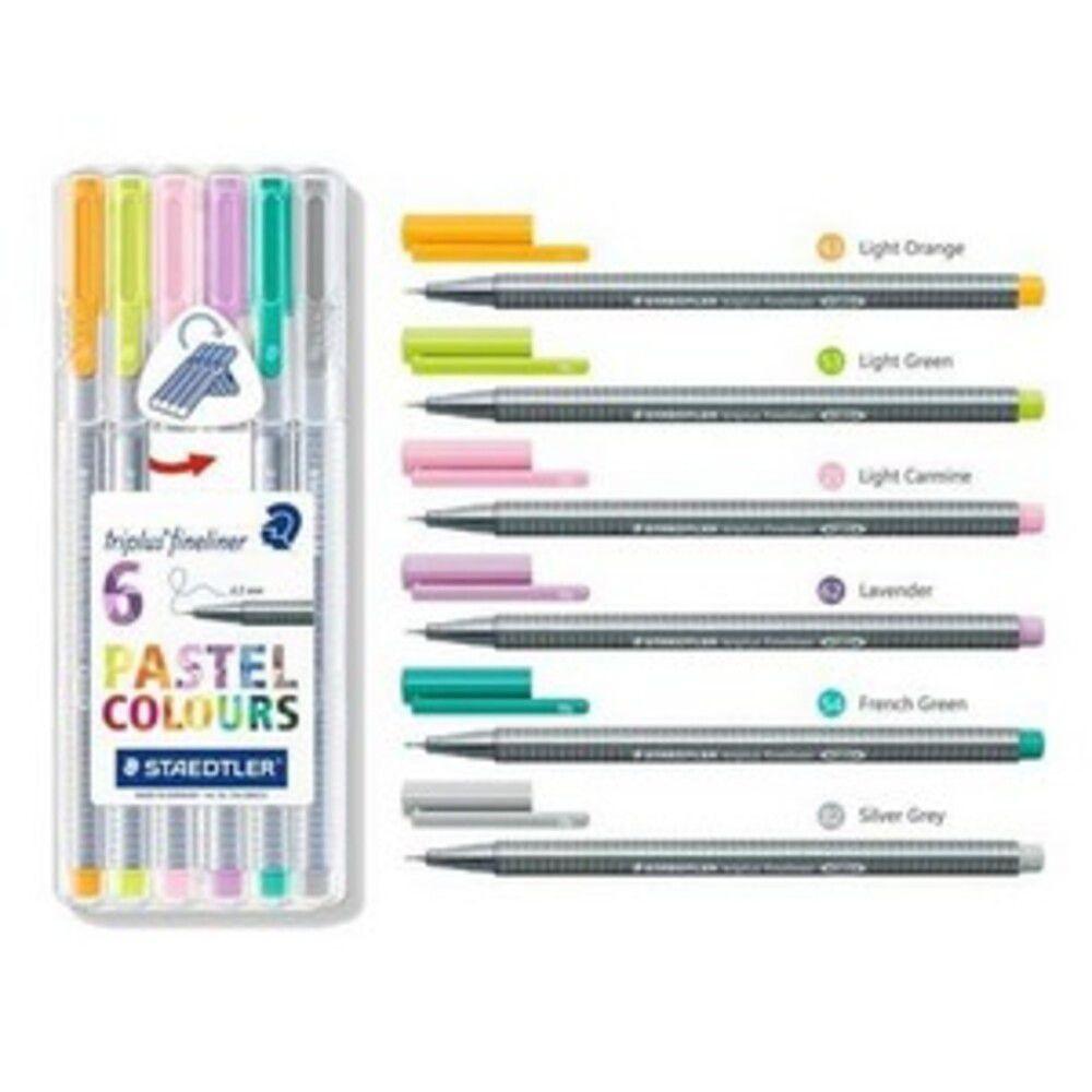Caneta Staedtler Fineliner Pastel 0,3mm
