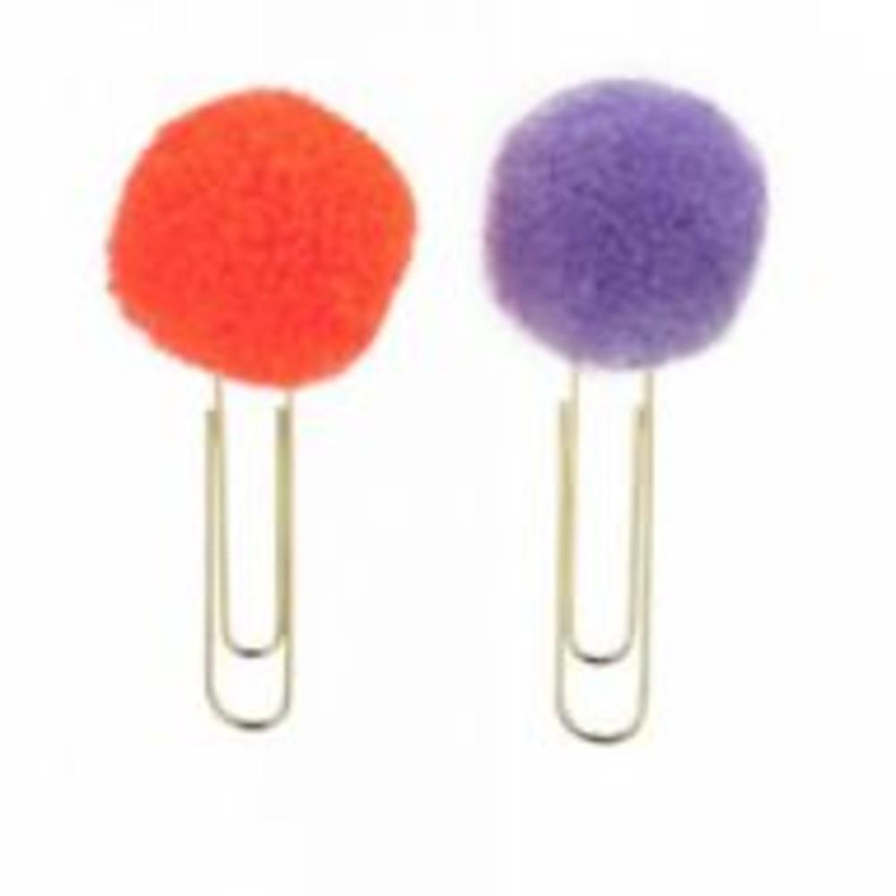 Clip Pom Pom MOLIN c/ 2 unidadesClip Pom Pom MOLIN c/ 2 unidades