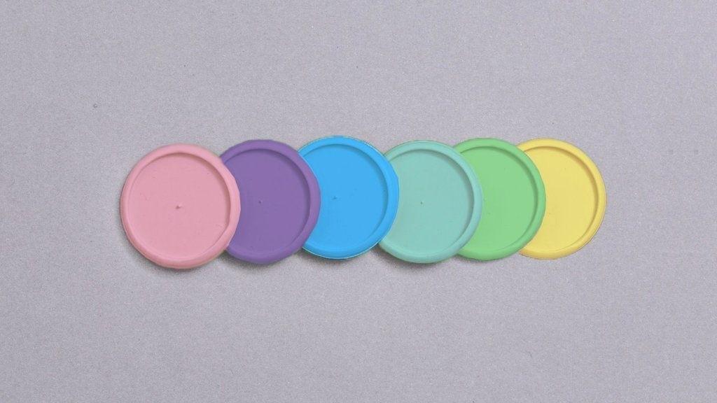 Discos+ elastico 31mm Colorido g Inteligente