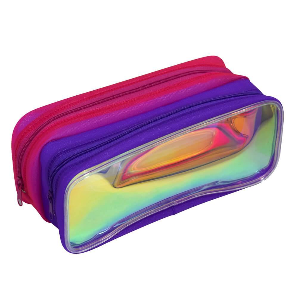 Estojo Holográfico Duplo Neon - DAC