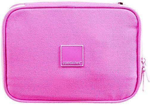 Estojo Soft Luxo Container Colors Luxo Light Pink Dermiwil, Rosa Claro