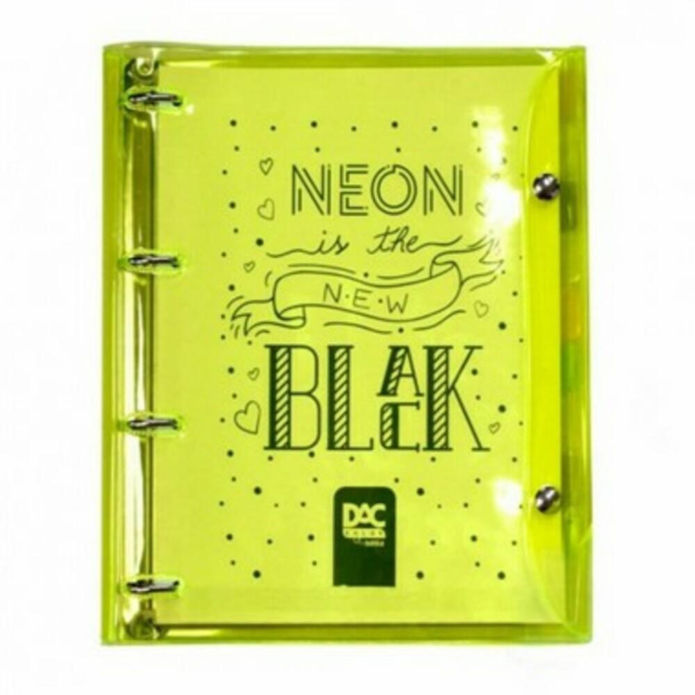 Fichário Argolado Color Neon