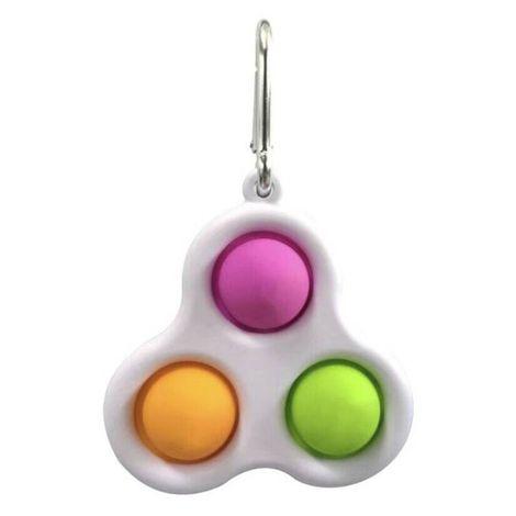 Fidget Toys - Pop it ( com 3 bolas) Chaveiro