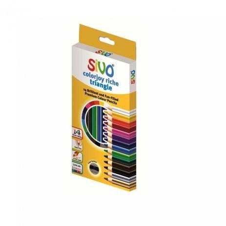 Lápis de Cor 12 Cores c/Lapiseira Aquarelavel   -Sivo