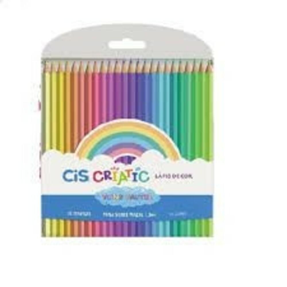 Lápis de Cor CIS  -24 Cores