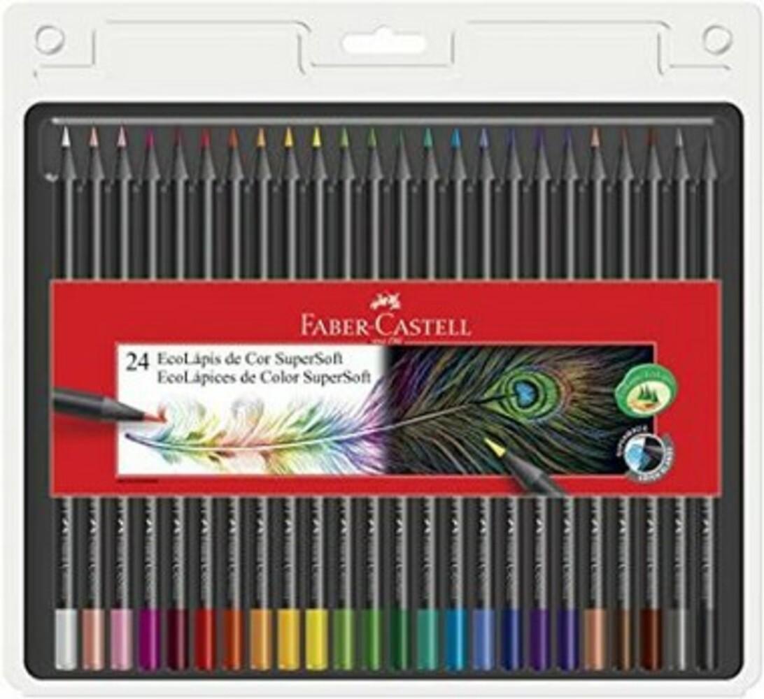Lápis de Cor SuperSoft c / 24 cores