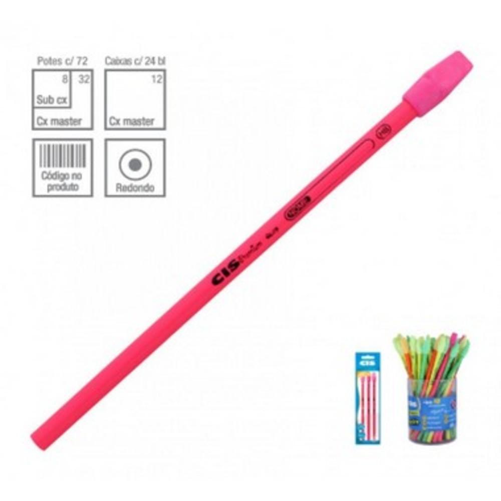 Lápis Grafite Neon Premium CIS