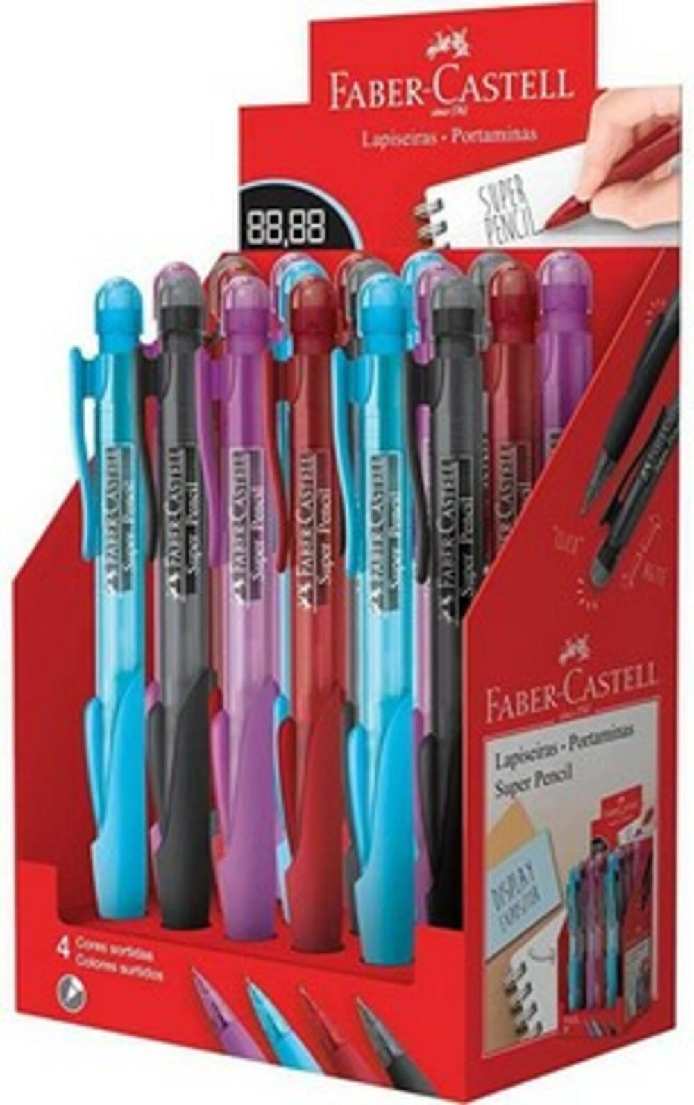 Lapiseira Portaminas Super Pencil  Faber-castell 0.7mm