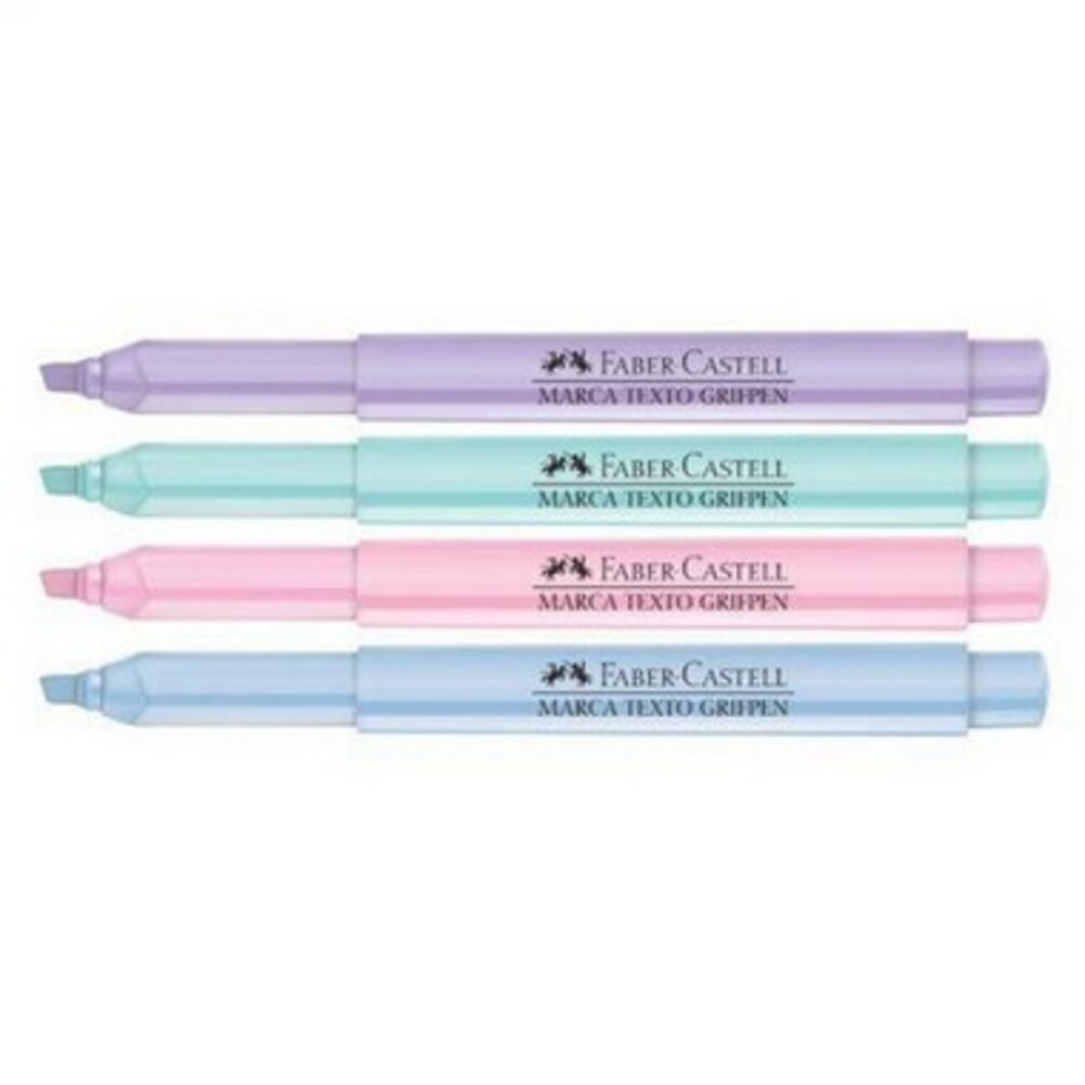 Marca Texto Pastel Grifpen Faber Castell