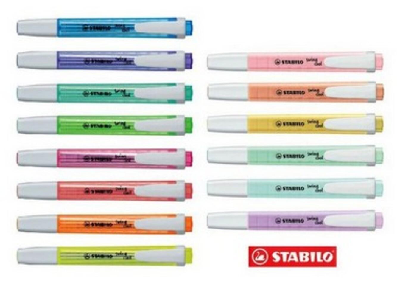 Marca Texto Stabillo Swing Cool Neon