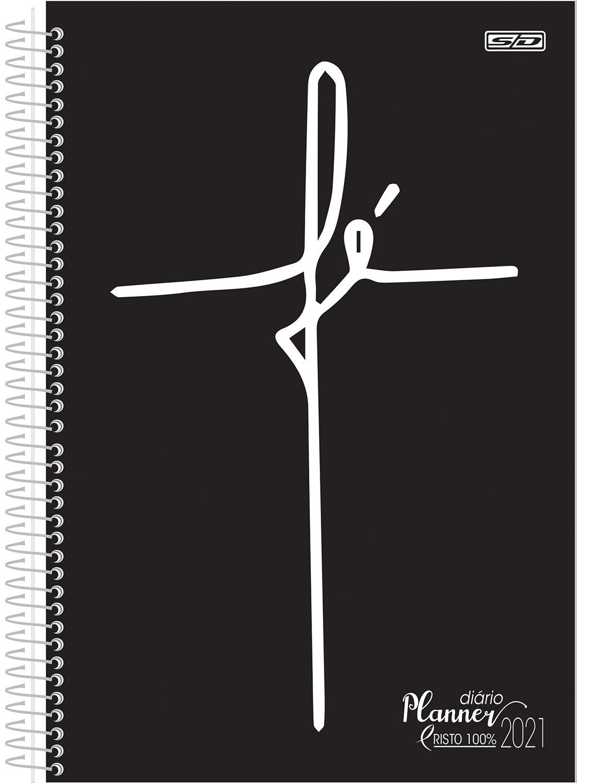 Planner Diário 2021 Cristo 100%