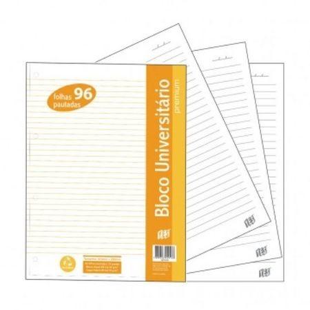 Refil para Fichario Universitario YES Premium 96 Folhas