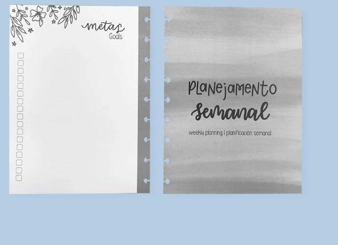 Refil Planner Permanente by Sofia Martins - Caderno Inteligente