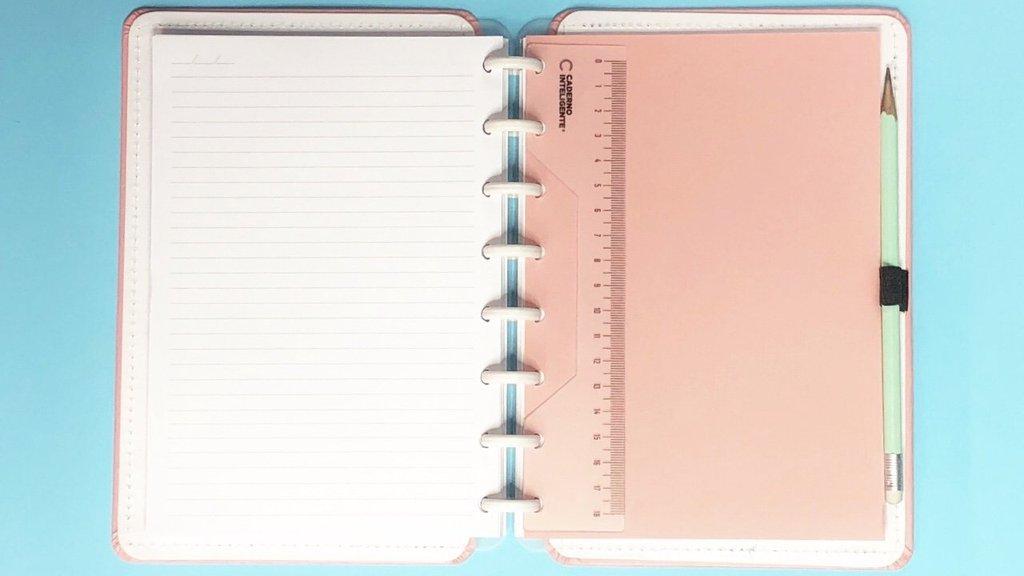 Régua 18 cm Caderno Inteligente