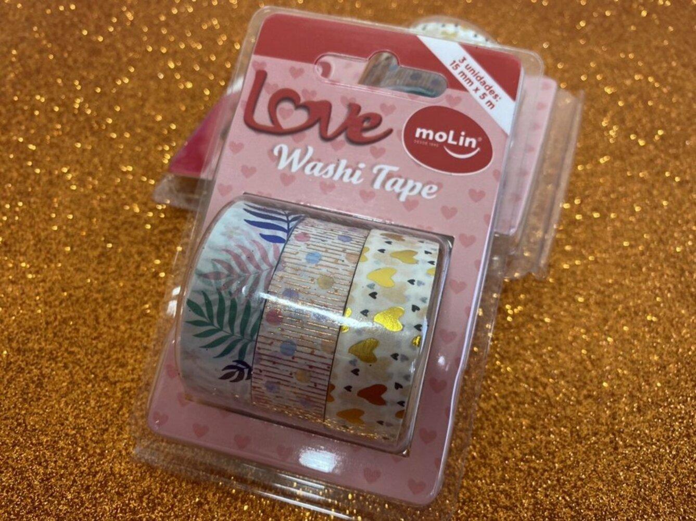 Whasi Tape c/ 3 unidades MOLIN