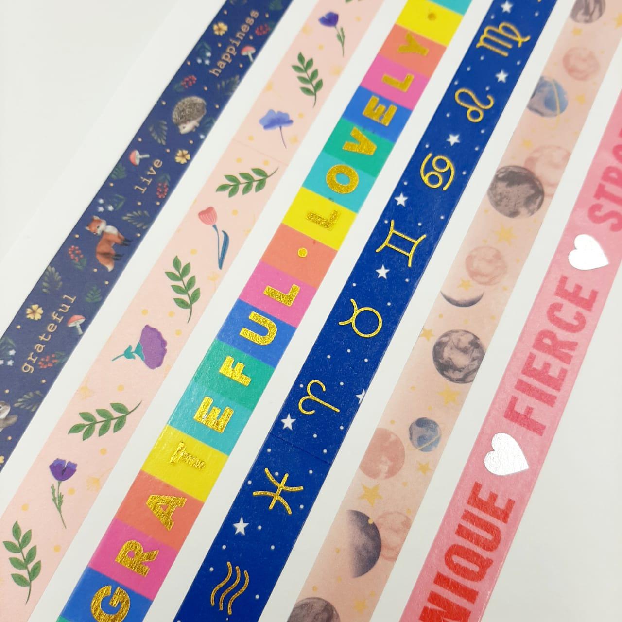 Washi Tape Decorativa - Tilibra
