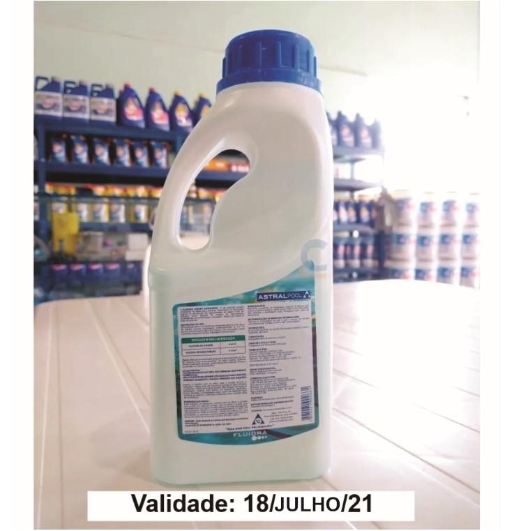 Algicida Manutenção E Choque - Elimina Água Verde - 1 Litro
