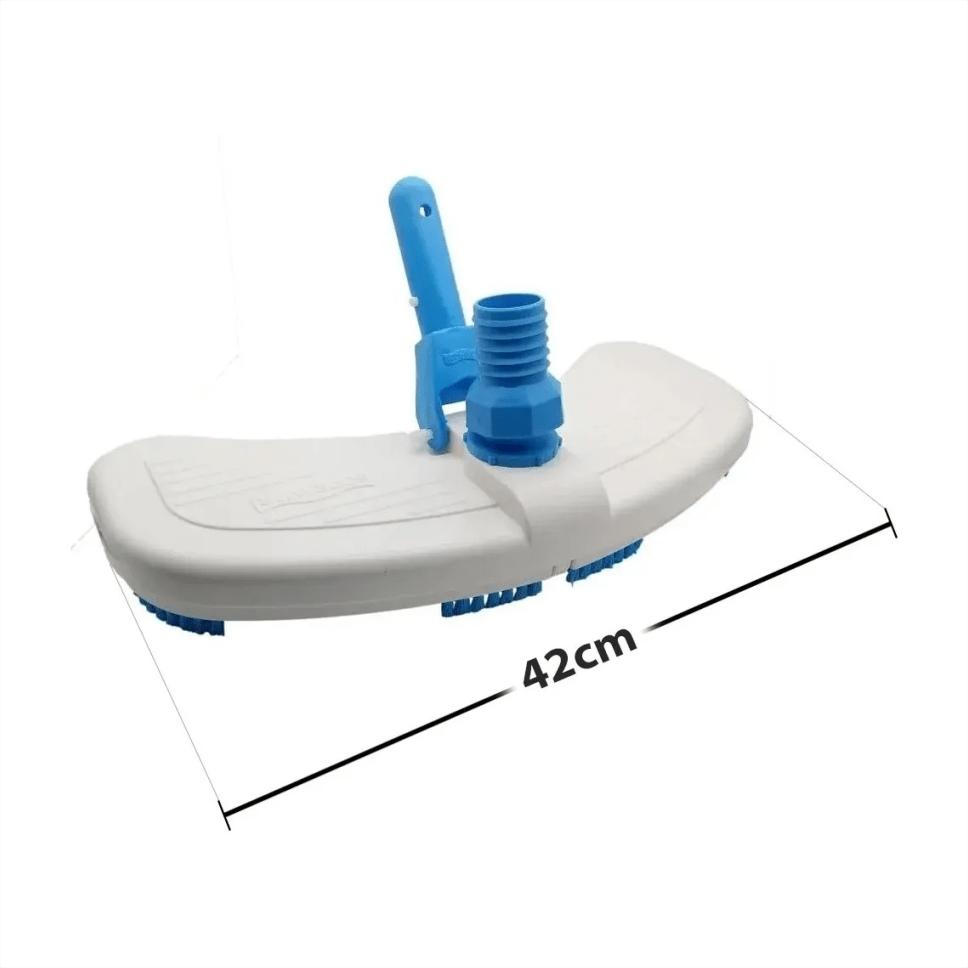 Aspirador Para Limpeza Piscinas Big Com Escova Sodramar