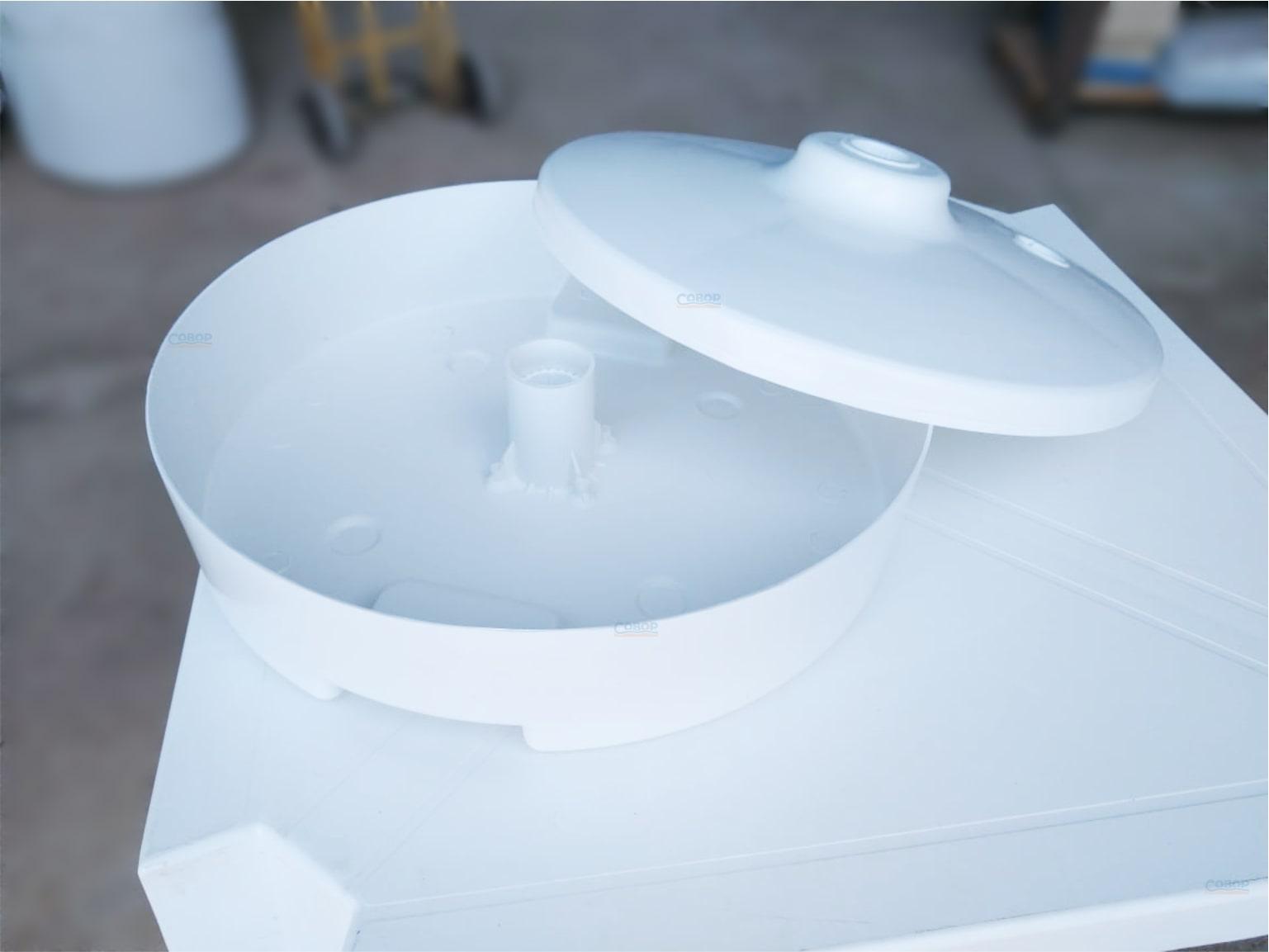 Base Para Guarda-sol Plástica Bocal FINO (Areia e Água)
