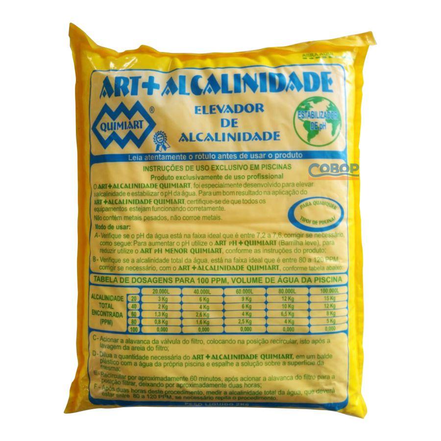 Bicarbonato Elevador De Alcalinidade  2Kg  - Quimiart