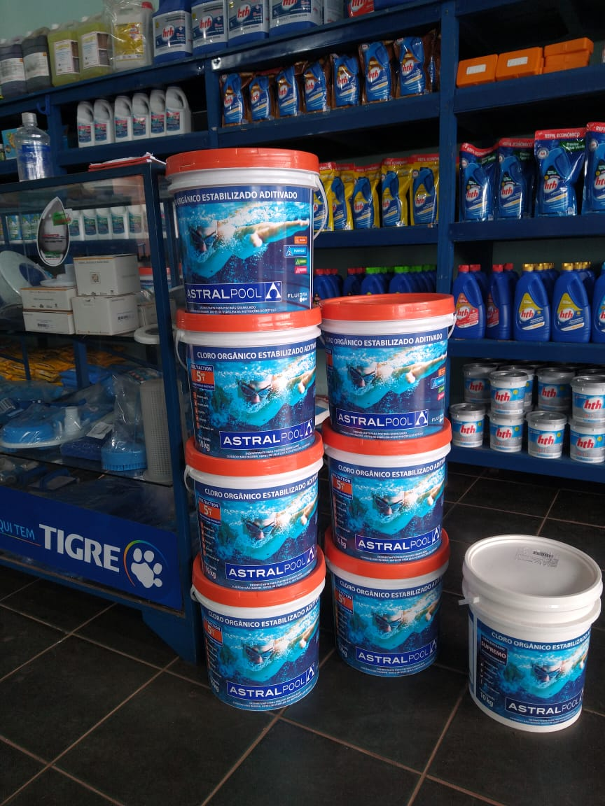 Cloro Organico Astralpool 5 em 1 10kg