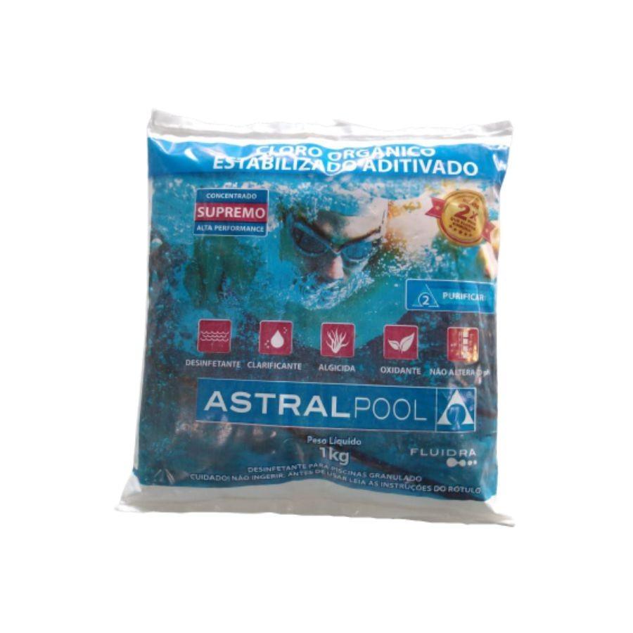 Fluidra Cloro Organico Supremo Astralpool - 1Kg