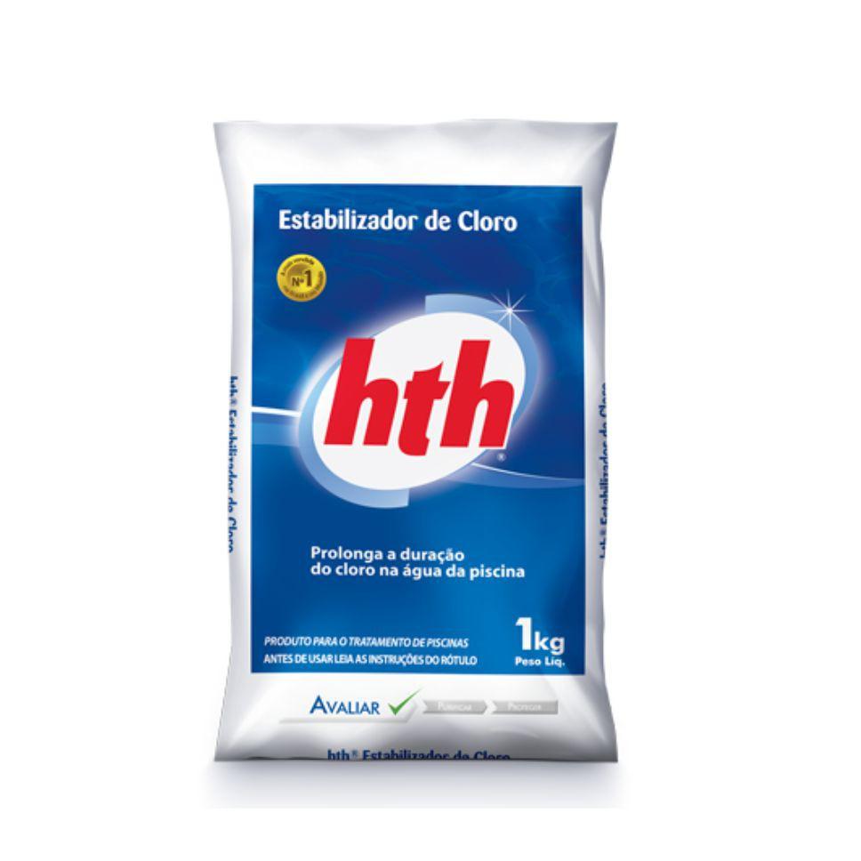 Estabilizador De Cloro HTH Tratamento Para Piscina 1kg