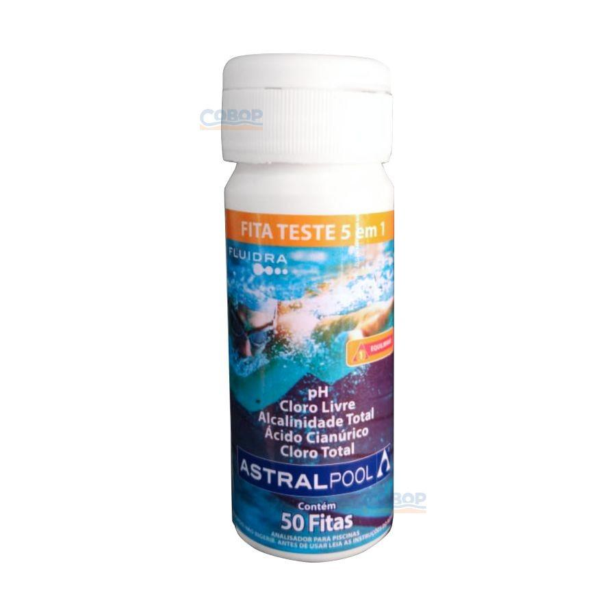 Fluidra Fita Teste 3 Em 1 Astralpool - 50 Fitas
