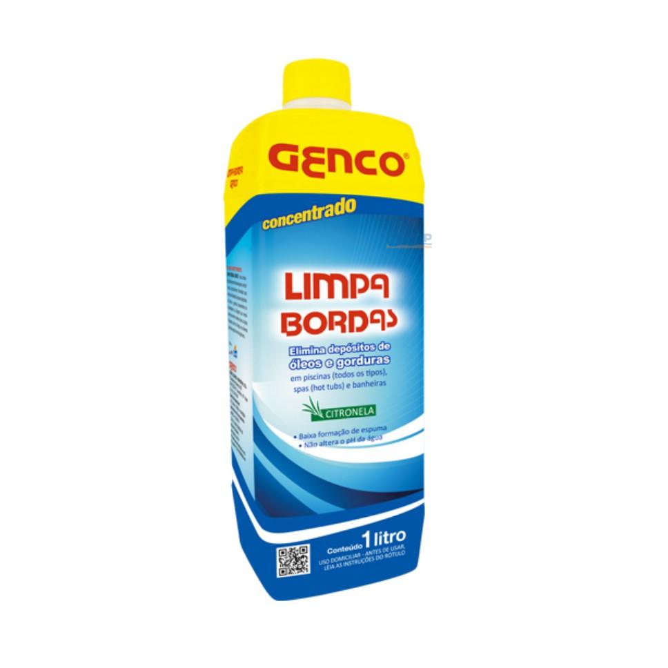 Limpa Bordas Para Piscinas - Genco - 1 Lt